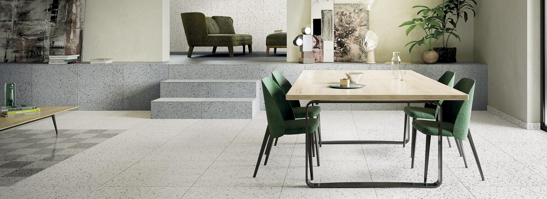 Gres Porcelanico Para Interiores Y Exteriores Modernos Fmg - Pavimentos-modernos